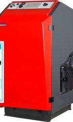 Červený kotel na pevná paliva A+
